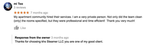 KHS Steamers Customer Review
